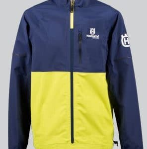 Remote rain Jacket_ blueyellow